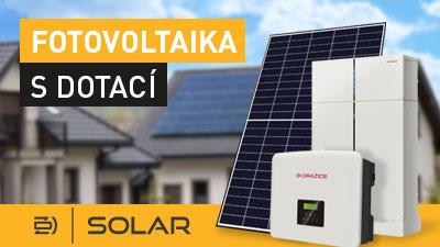 Fotovoltaický ohřev vody dražice