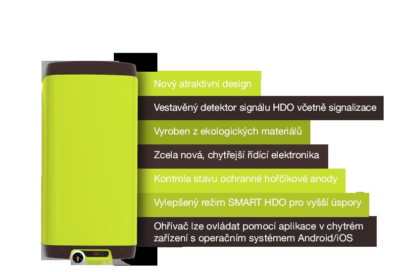 inteligentní ohřívač vody OKHE SMART