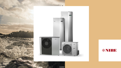 Heat pumps from NIBE